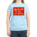 Kill the Commies Not the Cani Women's Pink T-Shirt
