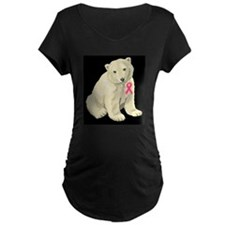 Breast Cancer Awarness Polar Bear T-Shirt
