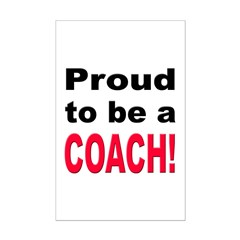 Proud Coach Posters