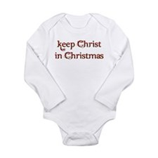 Keep Christ in Christmas Baby Outfits