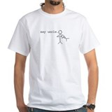 say uncle. nuggie stick figure T-Shirt