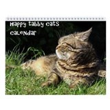 Tabby Cats Calendar