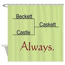 Beckett Castle Caskett Always Shower Curtain