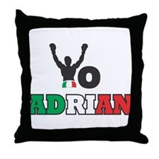 Yo Adrian Throw Pillow
