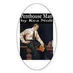 Penthouse Man Sticker (Oval)