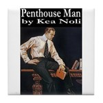 Penthouse Man Tile Coaster