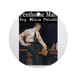 Penthouse Man Ornament (Round)