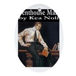 Penthouse Man Ornament (Oval)