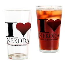 I Heart Kody Drinking Glass