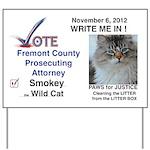 Vote Smokey Yard Sign