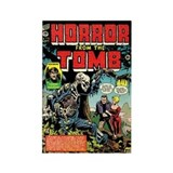 Horror From the Tomb #1 Rectangle Magnet