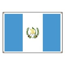 Flag of Guatemala Banner