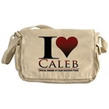 I Heart Caleb Messenger Bag