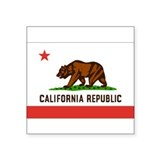 Flag of California Rectangle Sticker