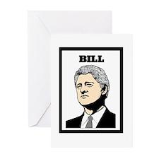 BILL CLINTON Greeting Cards (Pk of 10)