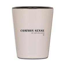 Common Sense Shot Glass