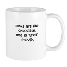 Books are like chocolate Mug