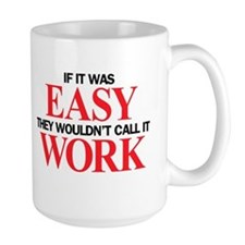 Left-handed Easy Work Coffee Mug
