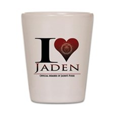 I Heart Jaden Shot Glass