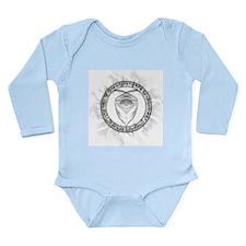 Jaden Symbol Long Sleeve Infant Bodysuit