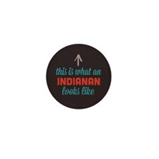 Indianan Looks Like Mini Button (100 pack)
