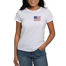 Watercolor USA Flag: Tee
