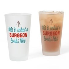 Surgeon Looks Like Drinking Glass