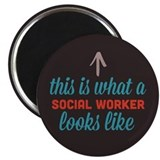 Social Worker Looks Like Magnet