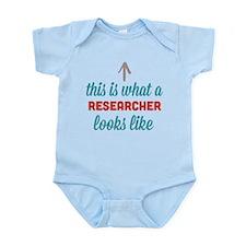 Researcher Looks Like Infant Bodysuit