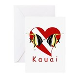 Kauai Dive Greeting Cards (Pk of 10)