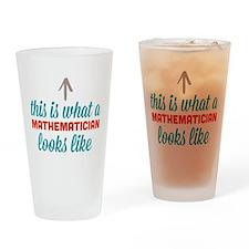 Mathematician Looks Like Drinking Glass
