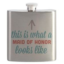 Maid Of Honor Looks Like Flask