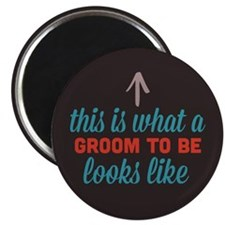 "Groom To Be Looks Like 2.25"" Magnet (100 pack)"