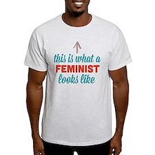 Feminist Looks Like T-Shirt