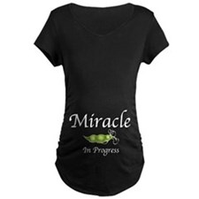 Miracle In Progress (Tummy) T-Shirt