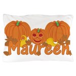 Halloween Pumpkin Maureen Pillow Case