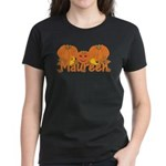 Halloween Pumpkin Maureen Women's Dark T-Shirt