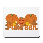 Halloween Pumpkin Maureen Mousepad