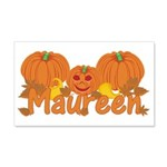 Halloween Pumpkin Maureen 20x12 Wall Decal