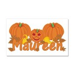 Halloween Pumpkin Maureen Car Magnet 20 x 12