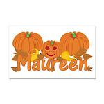 Halloween Pumpkin Maureen Car Magnet 20 x 12