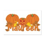 Halloween Pumpkin Maureen Mini Poster Print