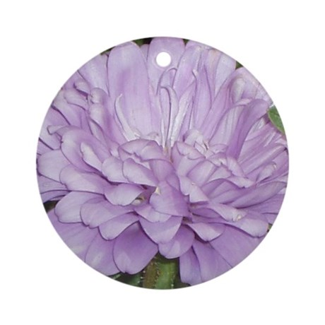 Lavender Flower Ornament (Round)