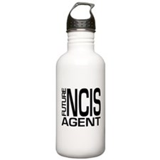 Future NCIS agent Water Bottle