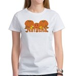Halloween Pumpkin Natasha Women's T-Shirt