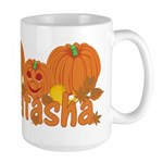 Halloween Pumpkin Natasha Large Mug