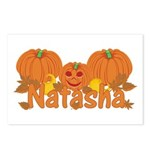 Halloween Pumpkin Natasha Postcards (Package of 8)