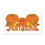 Halloween Pumpkin Natasha 20x12 Wall Decal