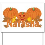 Halloween Pumpkin Natasha Yard Sign
