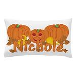 Halloween Pumpkin Nichole Pillow Case